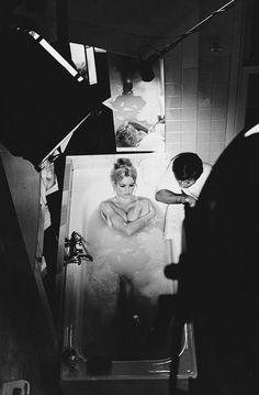 "Brigitte Bardot on the set of ""Two Weeks in September"", 1966"