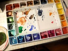 Maureen's palette by floating ink, via Flickr