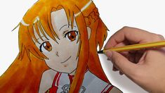COMO DIBUJAR MANGA ASUNA DE SWORD ART ONLINE Aprende a Dibujos A Lapiz, Dibujos A Lpiz, Dibujos Arte, Dibujos Faciles, Dibujos Kawaii, Dibujos De Disney, Dibujos Sencillos, Dibujos Paso A Paso, Dibujos Creativos, Dibujos De Chicas, Dibujos Mandalas. #dibujosalapiz #dibujosarte Sword Art Online, Persona Anime, Anime Triste, Princess Zelda, Fictional Characters, Pencil Drawings, Kawaii Drawings, Landscape Tattoo, Water Color Tattoos