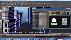 How to emit light from Objects in Autodesk Maya [Full HD]