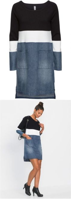 super ideas for dress diy upcycle shirt refashion Denim Fashion, Look Fashion, Umgestaltete Shirts, Dress Shirts, Band Shirts, Diy Clothes, Clothes For Women, Refashioned Clothes, Gilet Long