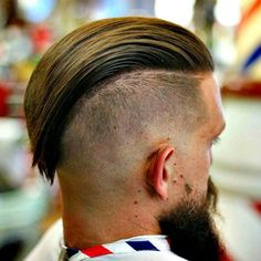 Dapper Hairstyles For Men - Undercut with Long Slick Back