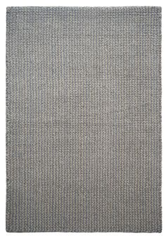 #HookandLoom Crossweave Taupe/Grey Eco Cotton Loom-Hooked Rug