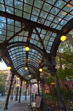 Pioneer Square, Seattle.  This is where the Underground Tour is located, along with a Gold Rush museum nearby, and also look for a gallery called Flury & Company.  They have extremely rare examples of Edward Curtis 100 year old photographs of Native Americans.