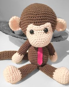 Monkey  #lunaryear#ellodee#ellodeebya#crochetmonkey#monkeycrochet#lunar#custom#handmade#amigurumi by ellodeebya