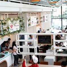 IOOR Studio - Foodhub #InteriorDesign #InteriorStory Photo by: The Lucky Belly