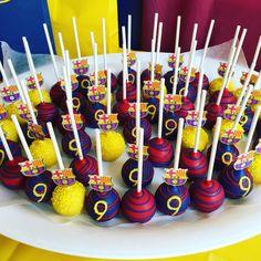 Barcelona Cake pops