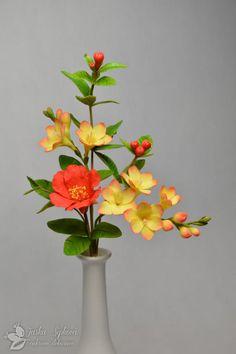 Freesia Pomergrade flower by JarkaSipkova