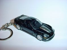 Collectibles Cheap Sale New 3d Black 1978 Chevrolet Corvette Custom Keychain Keyring Key Vette Bling!!! Automobilia