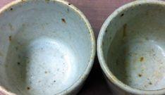 技法・technique : 器・UTSUWA&陶芸blogFeldspar 50  Dolomite 20  Kaolin 20  Bone ash 10  Flower of zinc (left) 3% (right) 5%