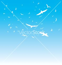 Free the birds vector on VectorStock®