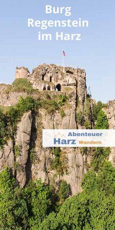 Die Burg Regenstein im Harz wurde in einen Sandsteinfelsen gehauen. #Harz #Burg #Wandern #Blankenburg #Kurzurlaub