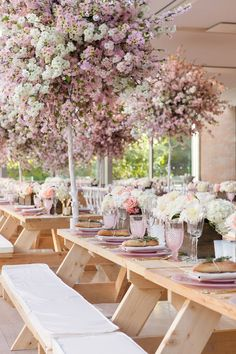 light pink wedding tables - photo by 5ive15ifteen http://ruffledblog.com/elegant-wedding-at-the-toronto-royal-conservatory-of-music