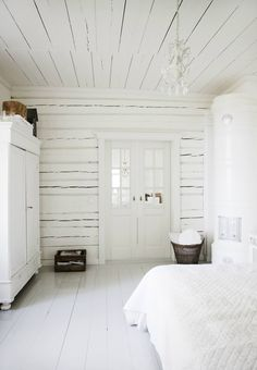 "White Bedroom Decor Fresh 45 ""all In White"" Interior Design Ideas for Bedrooms Home Bedroom, Bedroom Decor, Bedroom Ideas, Nordic Bedroom, Master Bedroom, Bedroom Country, Bedroom Inspiration, White Bedroom Design, Bedroom Designs"