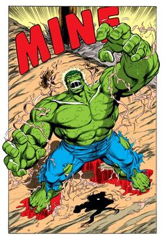 Dale Keown... Hulk literally came out of Bruce, shredding the skin, very dratic transformation. Many complained, but Dale was the Penciler to have a crack at this idea of Peter David.