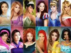What Disney princess do you look like? I got rapunzel