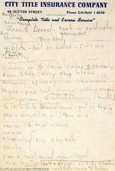 La receta de pavo de Marilyn Monroe