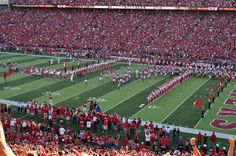 Nebraska Football - Huskers take the field