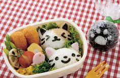 Super Cute Japanese Kitten Bento Rice Mould,Cat Shaped Sushi mold and Nori Punch ,Rich Ball Maker by BellaByYaya on Etsy https://www.etsy.com/listing/472007994/super-cute-japanese-kitten-bento-rice