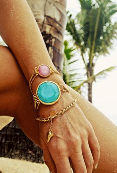 Rad Beach Bling Alert: Phyllis at Long Lost Jewelry designed...