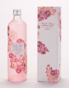 Pink Rose vodka.....