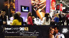 Targi Kosmetyczne InterCHARM 2013, 27-30 Listopad 2013r, Moskwa, Rosja.