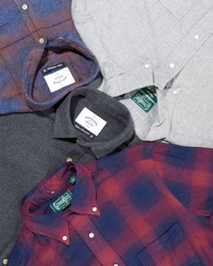 Stay warm this season with #Gitman Vintage & Portuguese #Flannel available in stores & online soon.