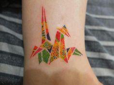 my origami tattoo