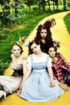 Wizard of Oz photo shoot