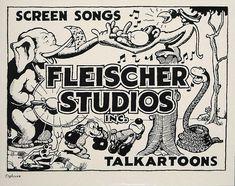 Fleischer Studios Cartoon Design, Cartoon Styles, Cartoon Art, Cartoon Characters, 1930s Cartoons, Classic Cartoons, Vintage Cartoon, Vintage Comics, Character Drawing