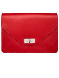 Givenchy by Riccardo Tisci Envelope Clutch #harpersbazaar #fashion #accessories #givenchy #clutch