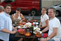 dinner @ 'puerta del sol' in vienna (austria)