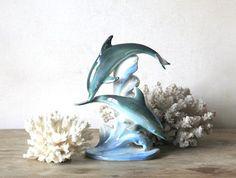 dolphins, japanese lusterware