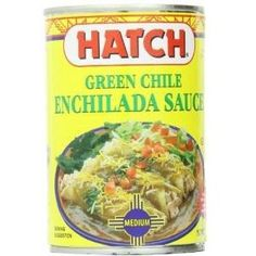 Hatch Farms Green Chile Medium Enchilada Sauce (12x15 Oz)