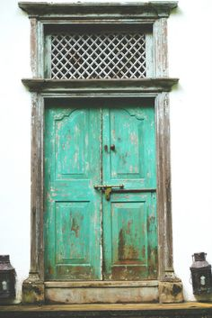 door at bawa's residence