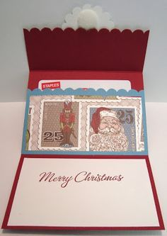 Jonia has 3 different styles of gift card holders in this post. Great ideas!