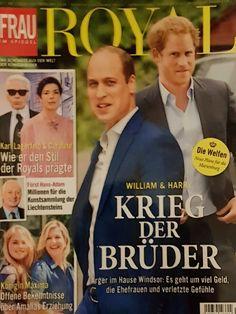 2019: William und Harry von Großbritannien Adele, William Harry, Royals Today, Cover, Books, Movie Posters, Magazines, Libros, Film Poster