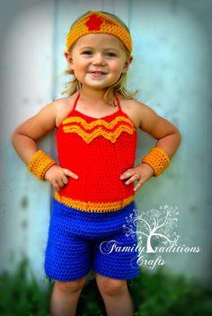 PATTERN   Super Heros Crochet girl version by srcorcoran on Etsy, $4.99