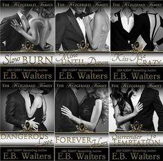 Românticos Books: E.B. Walters -  The Fitzgerald Family #1 a #3