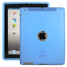 Soft Shell Logo (Lyse Blå) Deksel for iPad 3