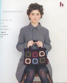 Warm Motif Knit Book Vol.4 - Japanese Crochet Pattern Book - B56, 5 - JapanLovelyCrafts | Flickr - Photo Sharing!