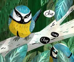 Ella Bailey Illustration: Tweet
