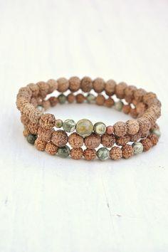 Prosperity Bracelet Stack – Mala Collective | Mala Beads, Malas, Necklaces and Bracelets