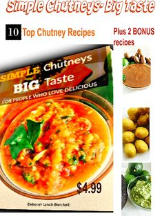 Chutney Cookbook, 10 chutney recipes, simple chutneys' this cookbook contains 10 recipes for my favorite Caribbean chutneys. Plus 2 bonus recipes! Cod Fish, Chutney Recipes, Caribbean Recipes, Tamarind, Fritters, Cooking Classes, Chana Masala, Pressure King, Chutneys