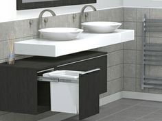 A compact bin from Hideaway Bins offers an ideal solution to keep a bathroom looking clutter free while keeping waste discreetly hidden. Made with a steel frame work, the strength and durability of a compact Hideaway bin makes them perfect for a space-saving solution, simplifying your bathroom. Click the image to view the full article.