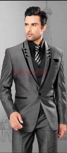 20 Best Black Suit For Men | Men\'s Fashion | Pinterest | Suits, Mens ...