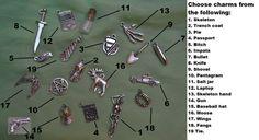 Items similar to Supernatural related charm bracelet or charms on Etsy 7 Seven, Skeleton Hands, Supernatural, Baseball Hats, Charmed, Crafty, Bracelets, Jewels, Etsy