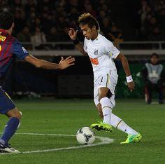 Neymar during the 2011 FIFA Club World Cup Final