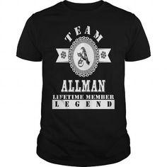 Awesome Tee ALLMAN Tee Tshirt T shirts #tee #tshirt #named tshirt #hobbie tshirts # Allman