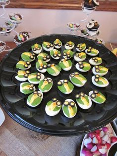 Loved it! They were a big hit at my mom's birthday party.  owl deviled eggs.